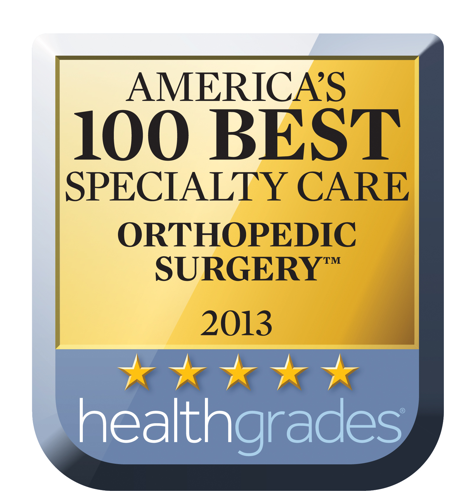 2013 Ortho Award